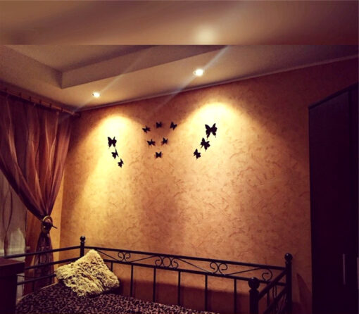 Black Butterfly Stickers Room