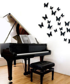 Black Butterfly Wall Stickers