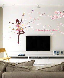Fairy and Butterfly Wall Decor