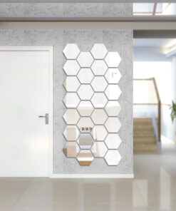 Hexagonal Mirror Stickers