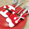 Santa Outfit Cutlery Holder