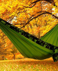Camo Green Two Person Hammock