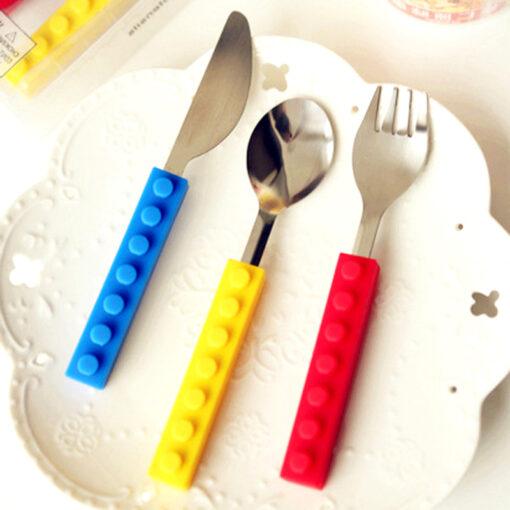 Mock Lego Cutlery